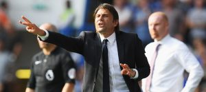 Conte against Burnley