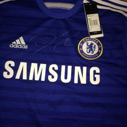 Signed Costa shirt up for grabs
