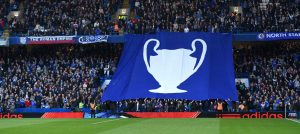 Fans in the Matthew Harding End