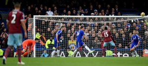 John Terry scores against West Ham Utd