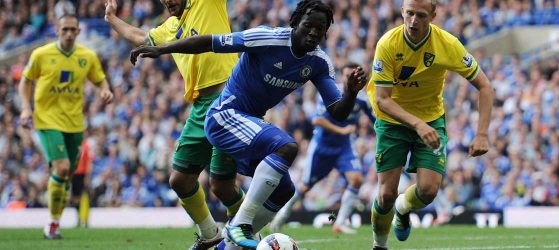 Lukaku against Norwich City