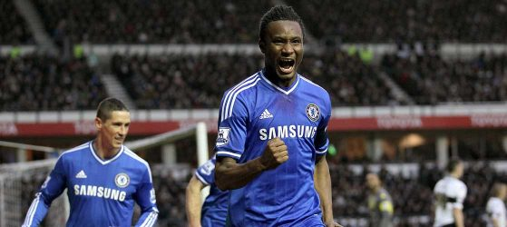 Mikel scores when he wants
