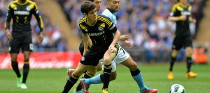 Oscar against Manchester City