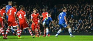 John Terry scores against Southampton