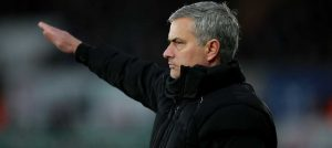 Jose Mourinho at Swansea