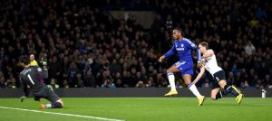 Drogba scores against Spurs