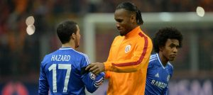 Eden Hazard and Didier