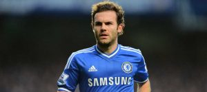 Juan Mata in action against Crystal Palace