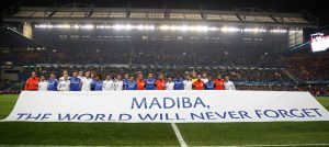 Players pay tribute to Madiba