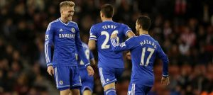 Schurrle celebrates his second goal